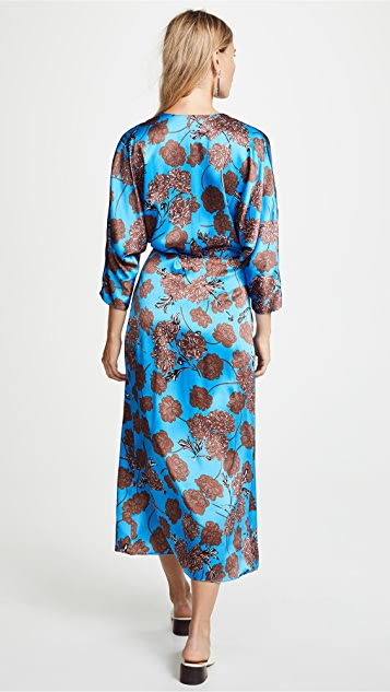 No.6 Viola Wrap Dress