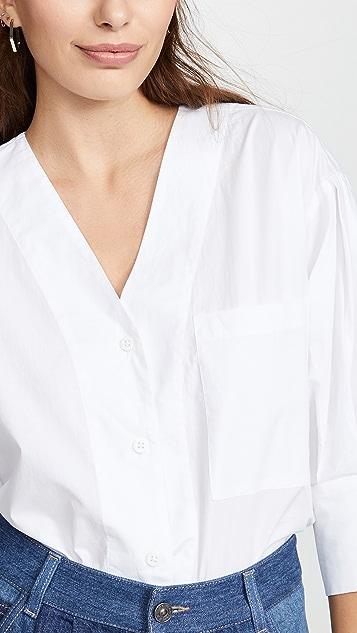 No.6 Turin Button Front Shirt