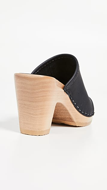 No.6 Daria High Heel Clogs