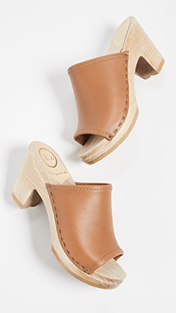 No.6 Daria High Heel Clogs