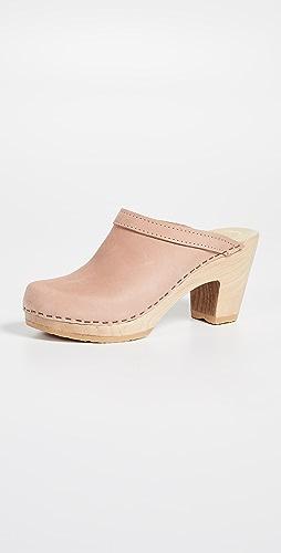 No.6 - Old School High Heel Clogs
