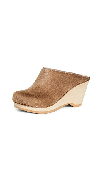 No.6 New School Wedge Clogs