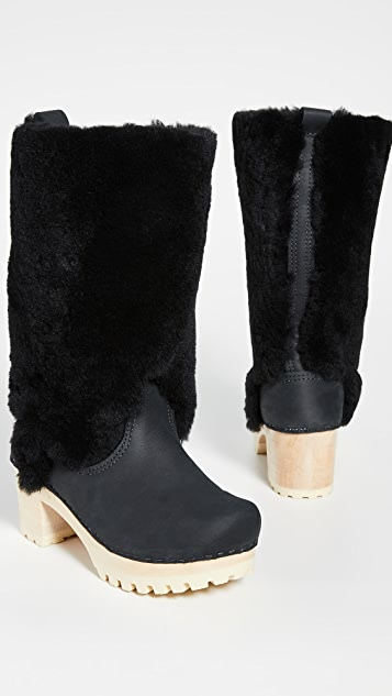 No.6 Alpha Shearling Mid Tread Boots