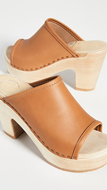 No.6 Daria Platform Clogs
