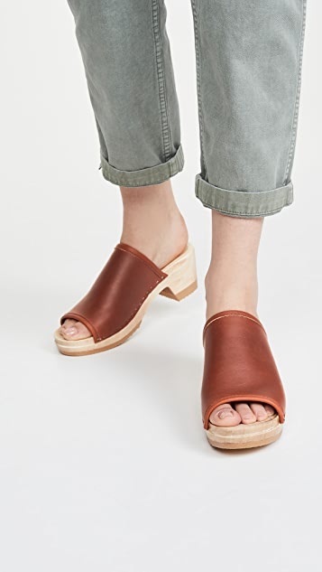No.6 Daria 中跟木底鞋
