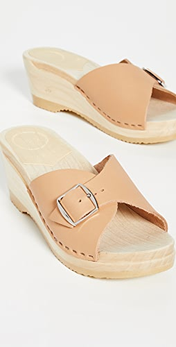 No.6 - Abuela Mid Wedge Clogs