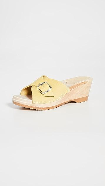 No. 6 Abuela 中坡跟木底鞋