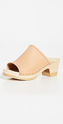 No.6 - Daria 中跟木底鞋