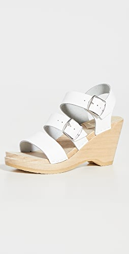 No.6 - Rosalia Wedge Clogs