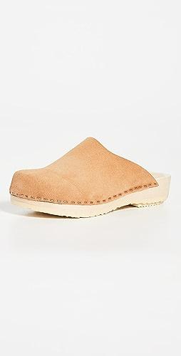 No.6 - Contour 平底木底鞋