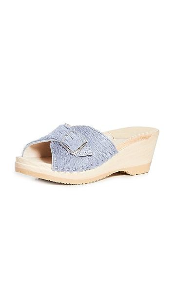 No.6 Abuela 中坡跟木底鞋