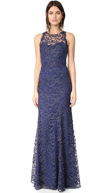 Marchesa Notte Lace Gown