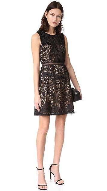 Marchesa Notte A-Line Dress