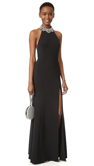 Marchesa Notte Halter Gown