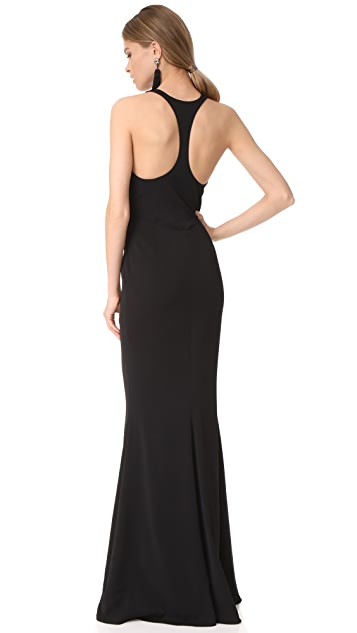 Marchesa Notte Column Gown
