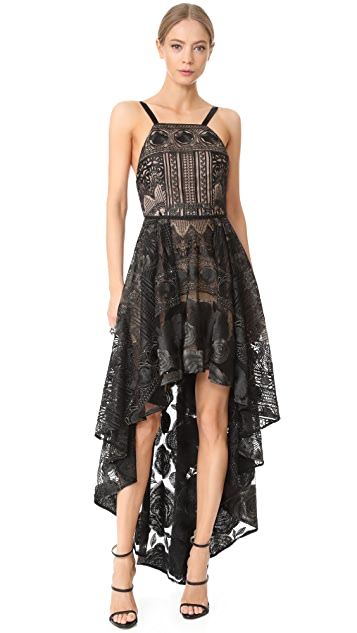 Marchesa Notte High / Low Tulle Gown