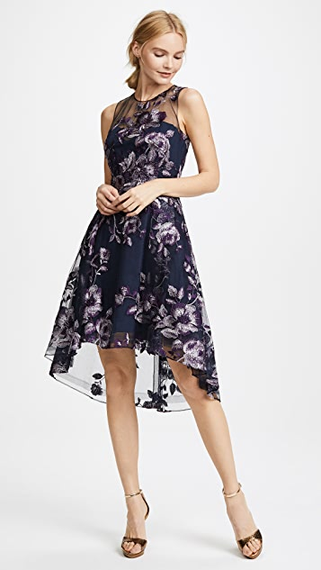 b66a659b Marchesa Notte Sleeveless Embroidered Cocktail Dress | SHOPBOP