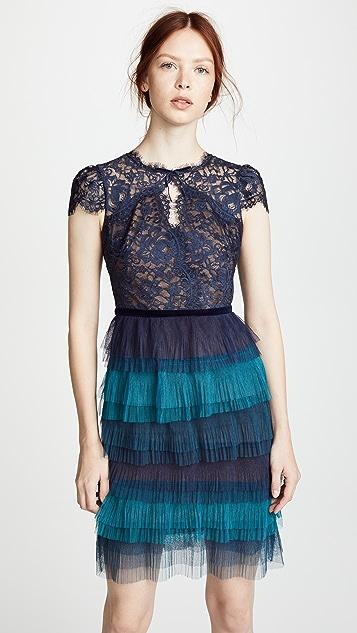 Marchesa Notte Cocktail Dress
