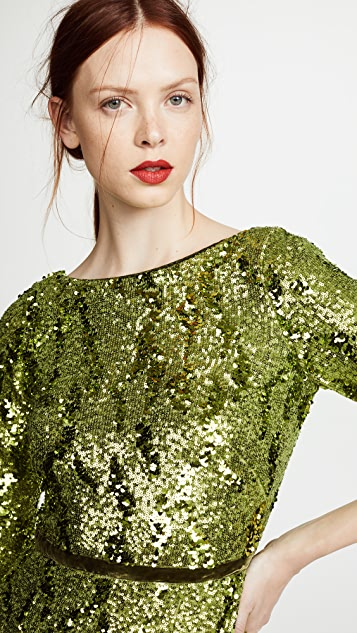 Marchesa Notte Sequin Dress