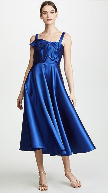 Marchesa Notte Вечернее миди-платье