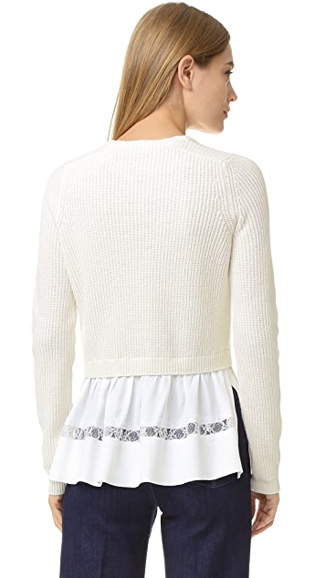 No. 21 Peplum Sweater