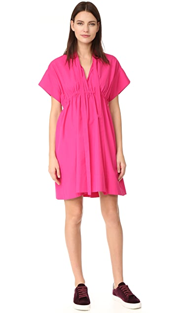 No. 21 Poplin Short Sleeve Dress