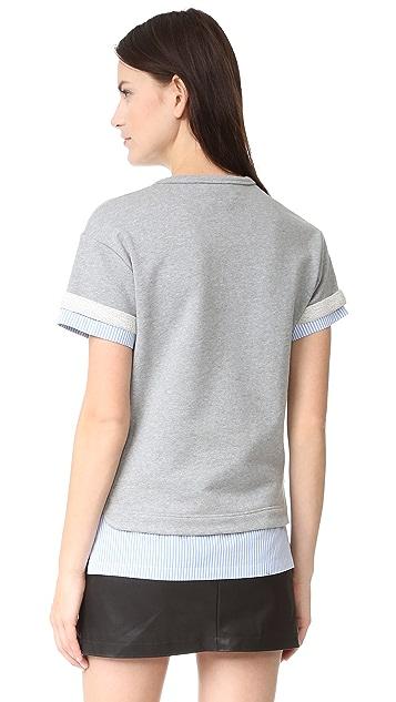 No. 21 Short Sleeve Sweatshirt