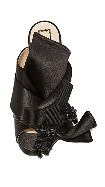 No. 21 Crystal Bow Mules