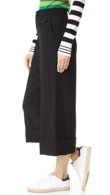 No. 21 Cropped Trousers