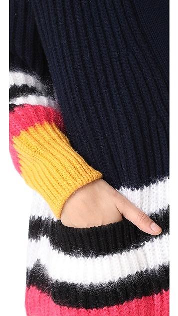 No. 21 Striped Cardigan