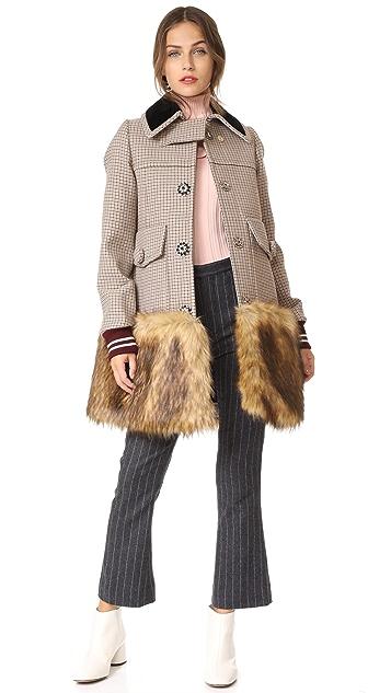 No. 21 Check Coat