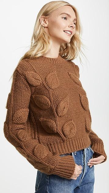 No. 21 Leaf Detail Knit