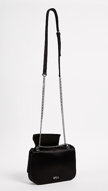 No. 21 Satin Knot Bag