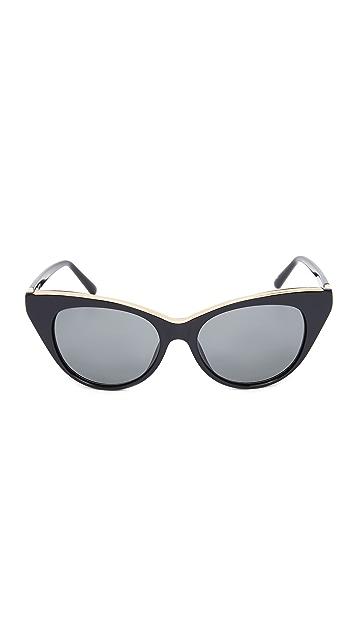 No. 21 Солнцезащитные очки «кошачий глаз»