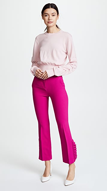 No. 21 Flared High Waisted Pants