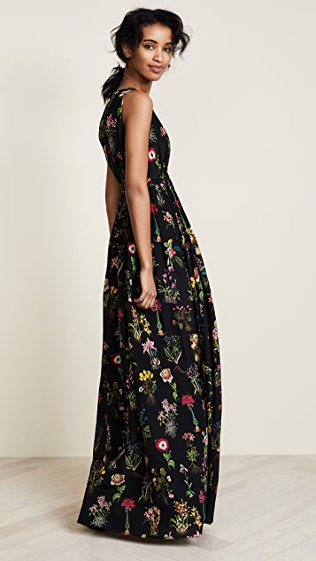 No. 21 Printed Maxi Dress