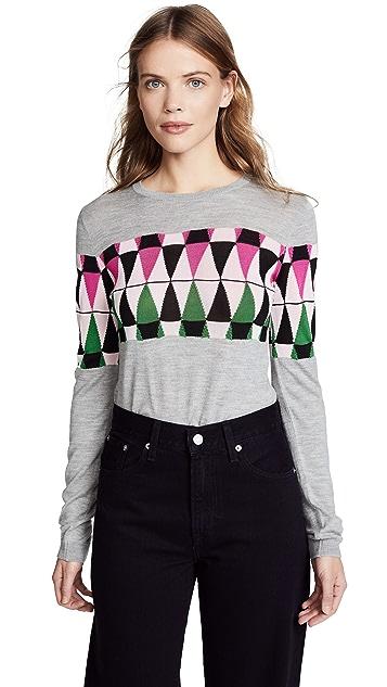 No. 21 Geometric Knit Sweater