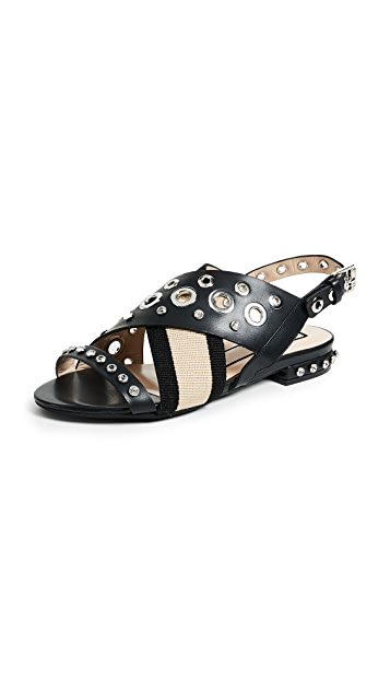 No. 21 Grommet Sandals