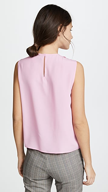 No. 21 Blouse with Neck Detail