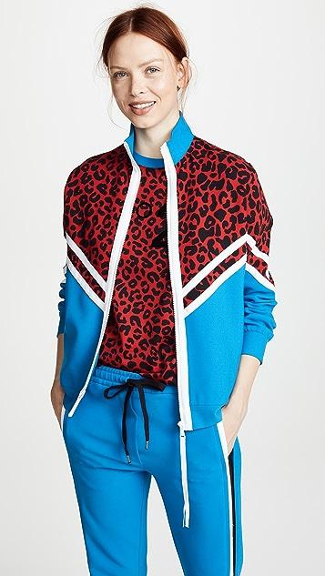 No. 21 Varsity Zip Up Sweatshirt