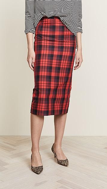 No. 21 Plaid Skirt