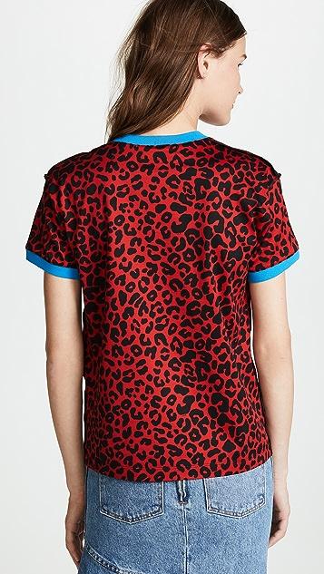 No. 21 Leopard No. 21 Tshirt