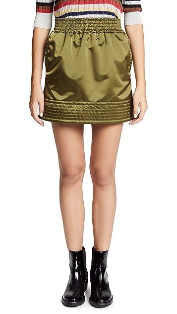 No. 21 Bomber Miniskirt