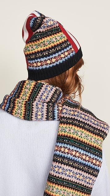 No. 21 Striped Pattern Hat