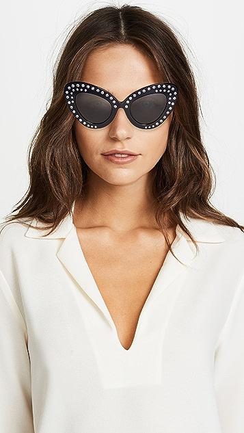 No. 21 Эффектные солнцезащитные очки «кошачий глаз»