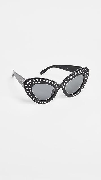 No. 21 Bold Cat Eye Sunglasses