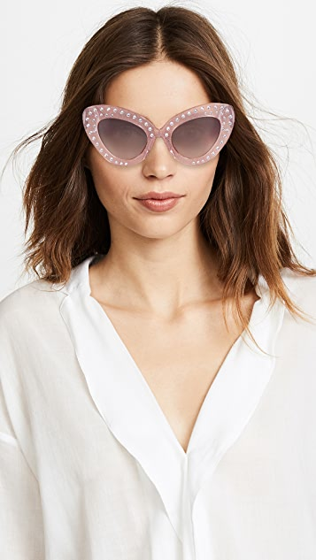 No. 21 Bold Cat Eye Sunglasses