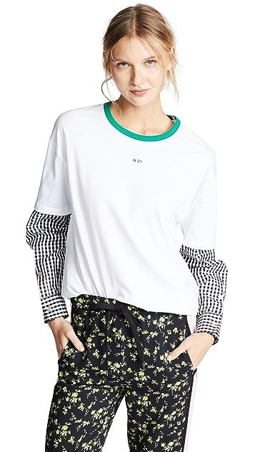 No. 21 Oversize T-Shirt