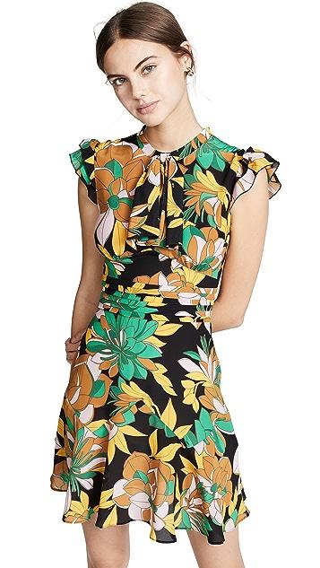 No. 21 Мини-платье Tropical