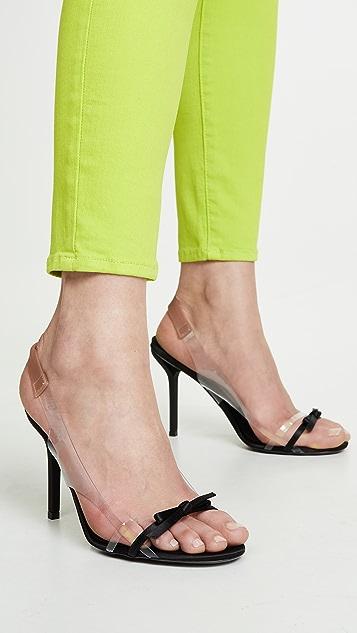 No. 21 Slingback Bow Sandals